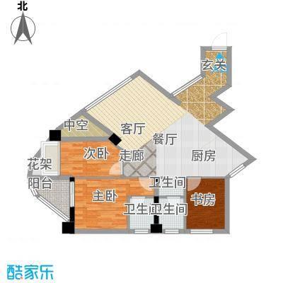 东方摩卡105.75㎡8-30层033面积10575m户型