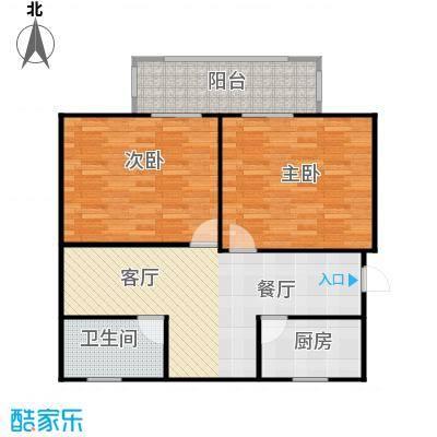 紫薇公寓89.00㎡面积8900m户型
