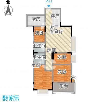 天泽大厦146.71㎡E型1面积14671m户型