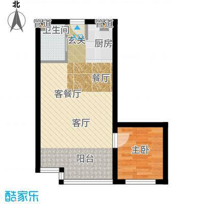 东方公寓60.08㎡面积6008m户型