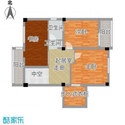 杨家山武警宿舍97.00㎡户面积9700m户型