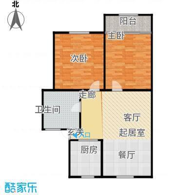 文晖苑86.00㎡面积8600m户型