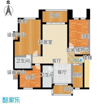 星星港湾清风苑131.00㎡面积13100m户型