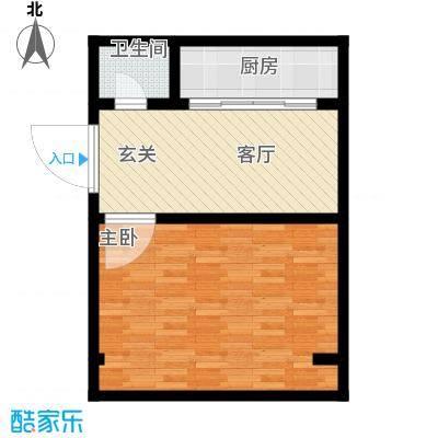 永丰巷53.00㎡面积5300m户型