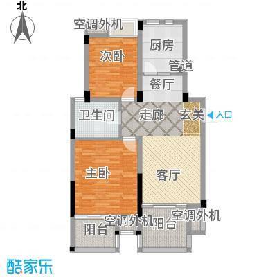 元都新景公寓90.00㎡A型面积9000m户型