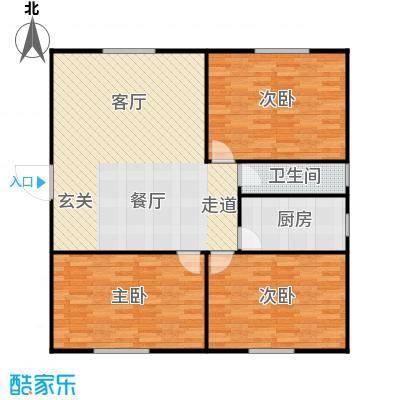 丹桂公寓114.00㎡面积11400m户型