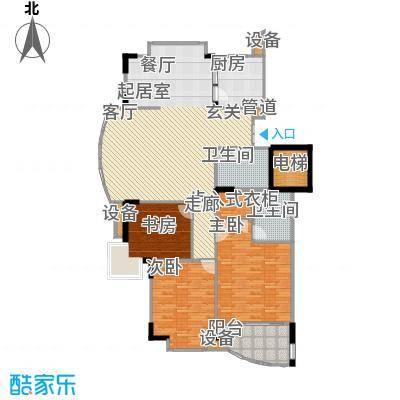 香榭里花园138.30㎡面积13830m户型