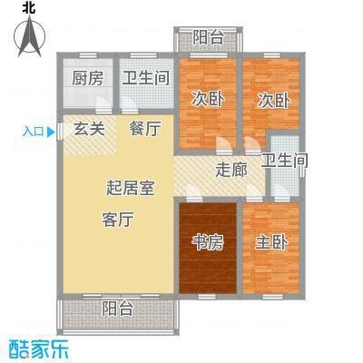 盛湘家园141.00㎡面积14100m户型