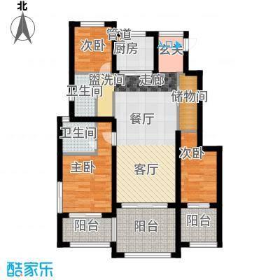 仰天湖轻工研究院宿舍78.00㎡面积7800m户型