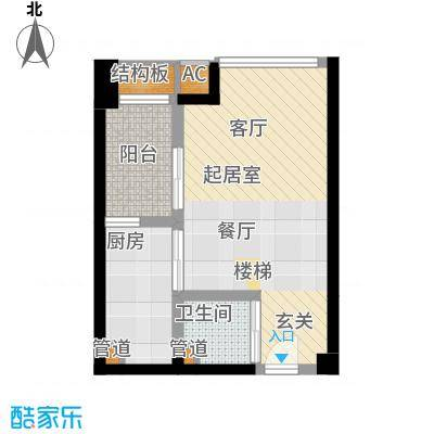 新青年公寓95.99㎡面积9599m户型