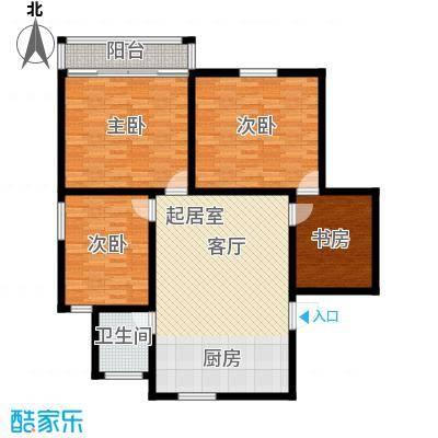 三塘南村115.00㎡面积11500m户型