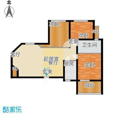 滨江美寓121.96㎡1-24-2面积12196m户型