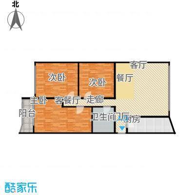 中江花园115.00㎡面积11500m户型