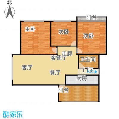 中江花园130.00㎡面积13000m户型