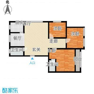 米兰公寓101.00㎡面积10100m户型
