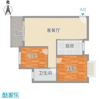 三城花苑89.92㎡14栋面积8992m户型