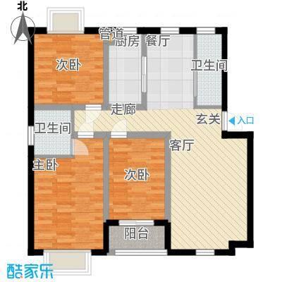 湖南化工医药设计院宿舍82.00㎡面积8200m户型