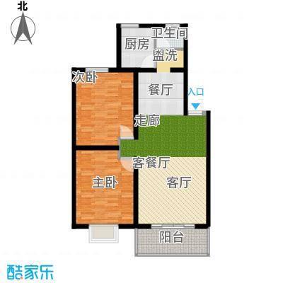 好家园经济适用房90.93㎡3面积9093m户型