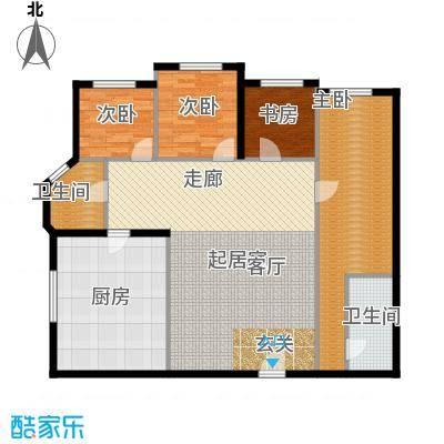 云龙公寓129.00㎡面积12900m户型