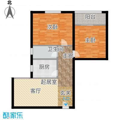 云龙公寓90.00㎡面积9000m户型