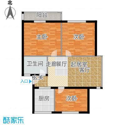 云龙公寓110.00㎡面积11000m户型