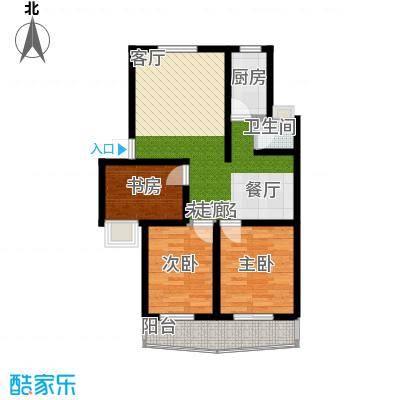 好家园经济适用房90.46㎡8面积9046m户型