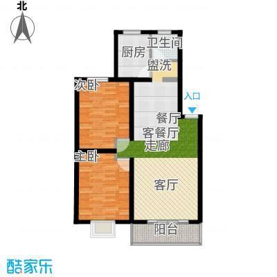 好家园经济适用房88.89㎡2面积8889m户型