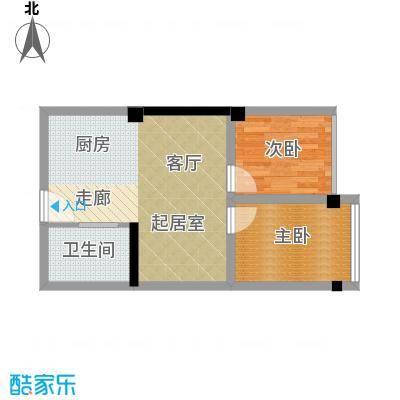 雍晟时代公馆50.62㎡1栋01、0面积5062m户型