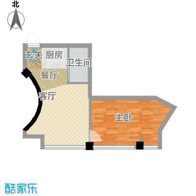 东方摩卡59.82㎡3-7层19面积5982m户型