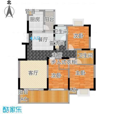 德泽苑125.34㎡5栋面积12534m户型