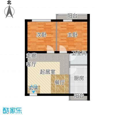 景芳东区60.00㎡面积6000m户型