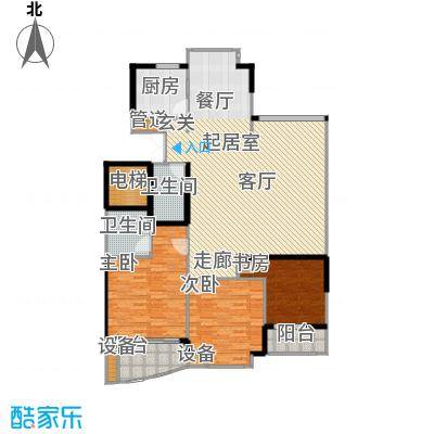 香榭里花园148.50㎡面积14850m户型