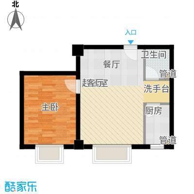三和公寓56.71㎡户面积5671m户型