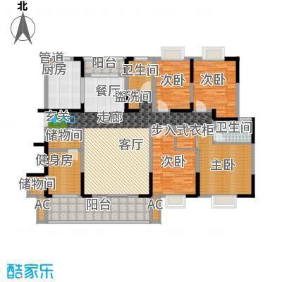 德泽苑168.47㎡10栋、6栋、16栋、17栋、面积16847m户型