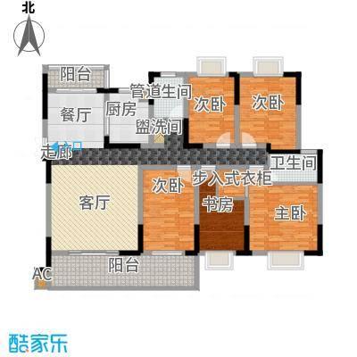 德泽苑162.43㎡10栋、9栋、4栋、7栋面积16243m户型