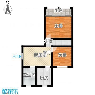国都公寓67.00㎡面积6700m户型