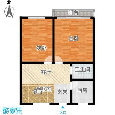 国都公寓68.00㎡面积6800m户型