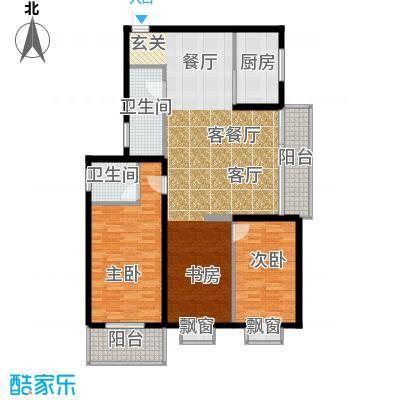 天翔新新家园a62户型