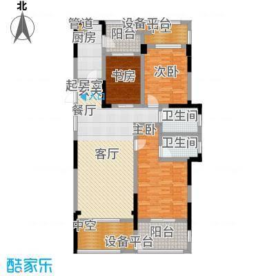 银马公寓128.00㎡面积12800m户型