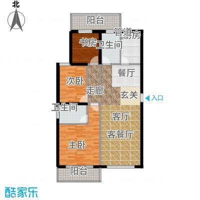 天翔新新家园a42户型