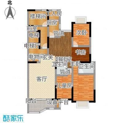 银马公寓129.00㎡面积12900m户型