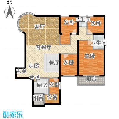 金色屋顶187.00㎡户面积18700m户型