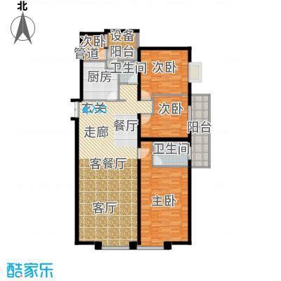 金色屋顶166.00㎡户面积16600m户型