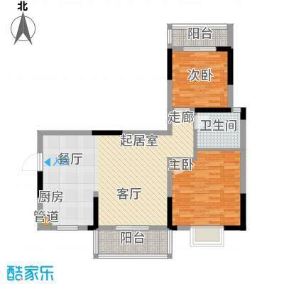 鑫天山城明珠89.04㎡1/3栋B2面积8904m户型