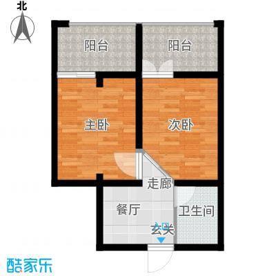 江临天下53.00㎡面积5300m户型