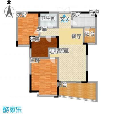 锦绣江南115.17㎡面积11517m户型