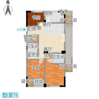 海棠公寓120.00㎡面积12000m户型