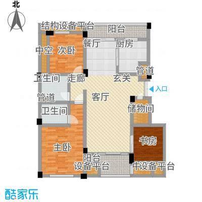 海棠公寓128.00㎡面积12800m户型