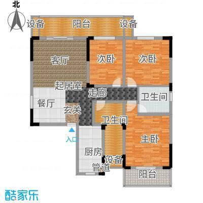 枫雅名苑140.81㎡面积14081m户型