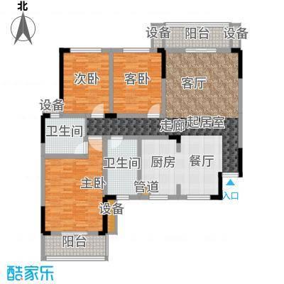 枫雅名苑139.41㎡面积13941m户型